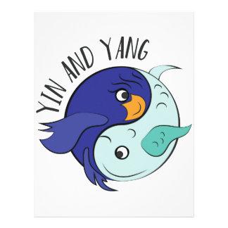 Yin And Yang Letterhead