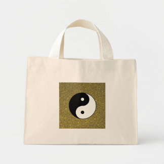 Yin and Yang Mini Tote Bag
