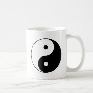 Yin and Yang Motivational Philosophical Symbol Coffee Mug