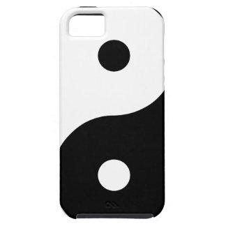 Yin and Yang Motivational Philosophical Symbol iPhone 5 Case