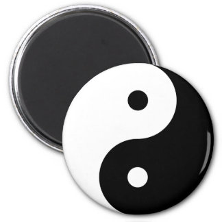 Yin and Yang Motivational Philosophical Symbol Magnet