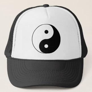 Yin and Yang Motivational Philosophical Symbol Trucker Hat