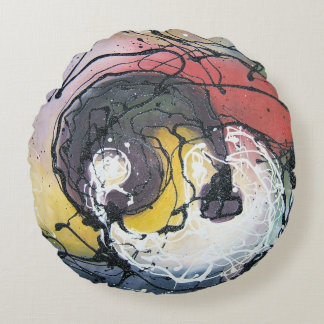 Yin and Yang Pillow