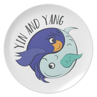 Yin And Yang Plates