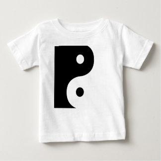 Yin And Yang Sides Baby T-Shirt