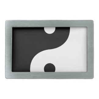 Yin And Yang Sides Belt Buckle