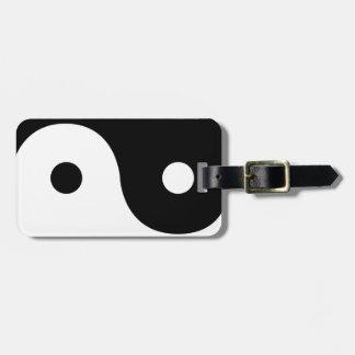 Yin And Yang Sides Luggage Tag