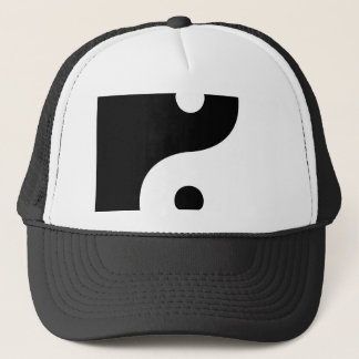 Yin And Yang Sides Trucker Hat