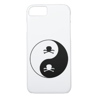 Yin and yang skulls iPhone 8/7 case