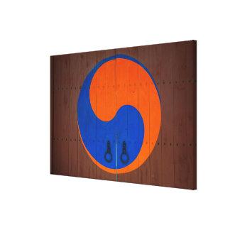 Yin and Yang symbol, South Korea Canvas Print
