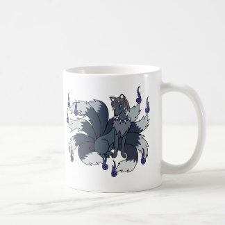 Yin and Yang The Nine Tailed (Kitsune) Coffee Mug