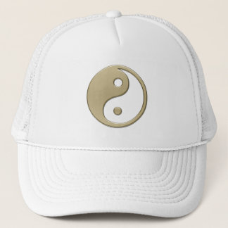 YIN AND YANG TRUCKER HAT