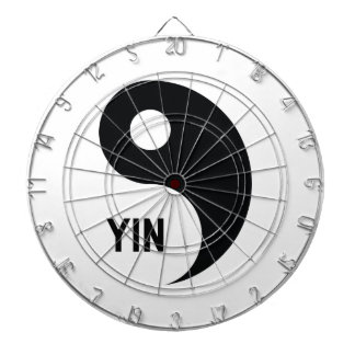 Yin Dartboard With Darts