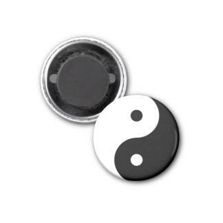Yin Tang Tai Ji Chinese Symbol Magnet