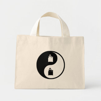 Yin Yang Administrative Assisting Mini Tote Bag