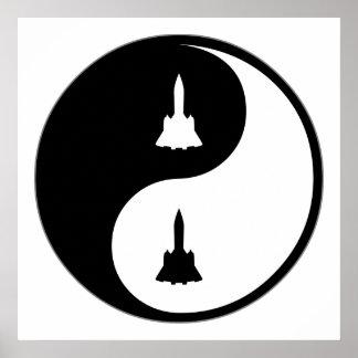 Yin Yang Aerospace Engineering Poster