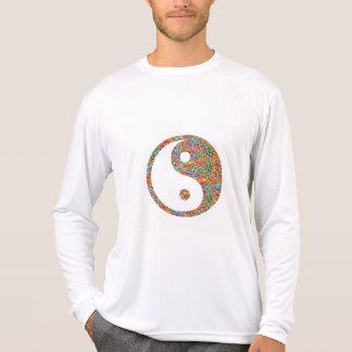 Yin Yang and Canadian Goldmine Jewel Art T-Shirt