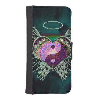 Yin Yang, Angel Wings, Halo iPhone 5 Wallet