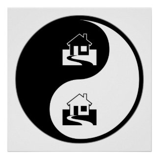 Yin Yang Appraisals Poster