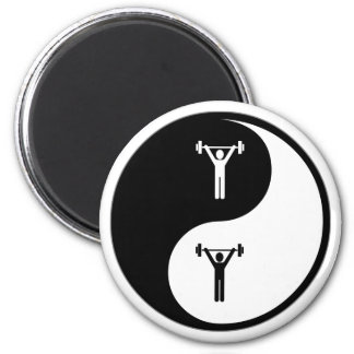 Yin Yang Athletic Training Magnet