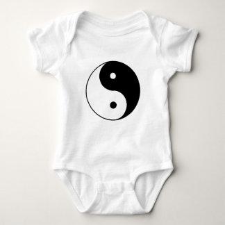 Yin__Yang Baby Bodysuit