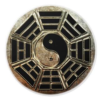 Yin Yang Bagua Ceramic Knob