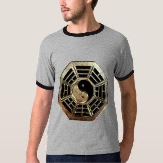 Yin Yang Bagua Dark Ringer T-Shirt
