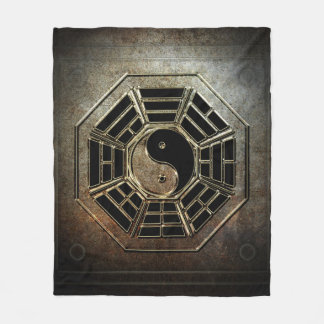 Yin Yang Bagua Fleece Blanket