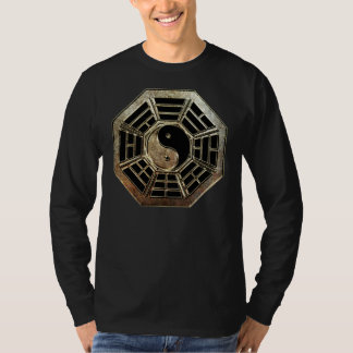 Yin Yang Bagua Long Sleeve Dark T-Shirt