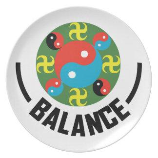 Yin Yang Balance Plate
