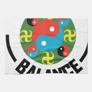 Yin Yang Balance Towels
