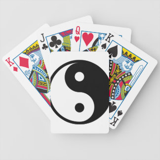 yin yang Basic Line Bicycle Playing Cards