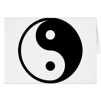 yin yang Basic Line Card