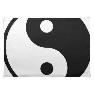 yin yang Basic Line Placemat