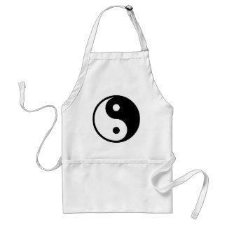yin yang Basic Line Standard Apron