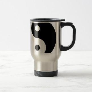 yin yang Basic Line Travel Mug