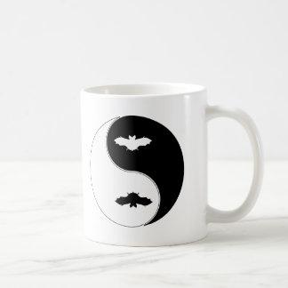 Yin Yang Bat Coffee Mug