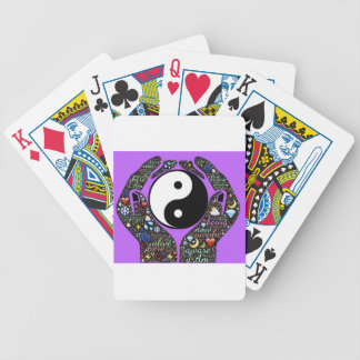 Yin, Yang Bicycle Playing Cards