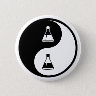 Yin Yang Biology 2 Inch Round Button