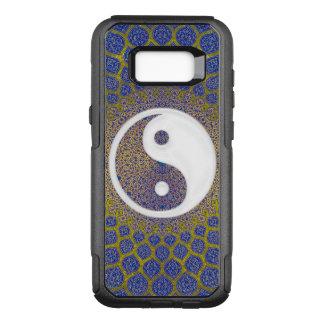 Yin Yang Blue OtterBox Commuter Samsung Galaxy S8+ Case