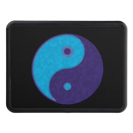 yin-yang blue tao zen symbol hitch covers