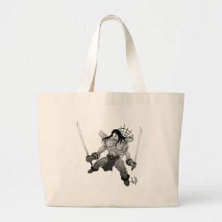 Yin Yang Boogieman Large Tote Bag