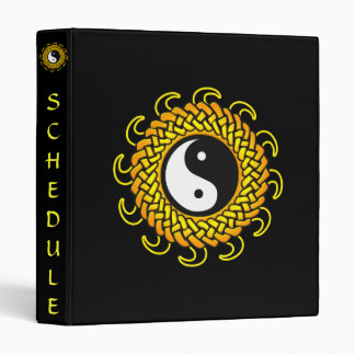 Yin Yang Braided Sun Binder