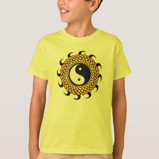 Yin Yang Braided Sun T-Shirt