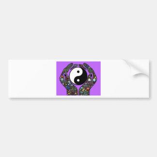 Yin, Yang Bumper Sticker