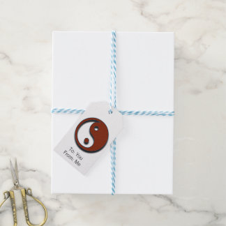 Yin Yang by Shirley Taylor Pack Of Gift Tags
