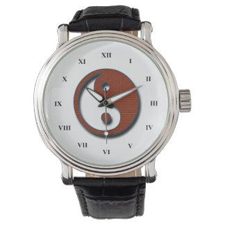 Yin Yang by Shirley Taylor Wristwatch