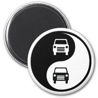 Yin Yang Car Magnet