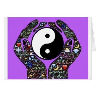 Yin, Yang Card