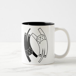 Yin & Yang Cats Mug